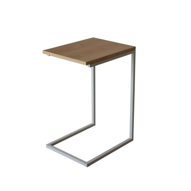 Table d 39 appoint design tronic beige - Conforama table d appoint ...
