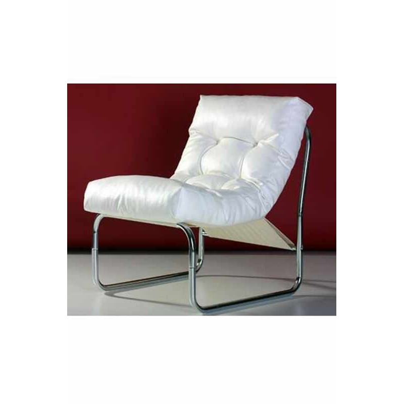 fauteuil design clip blanc. Black Bedroom Furniture Sets. Home Design Ideas