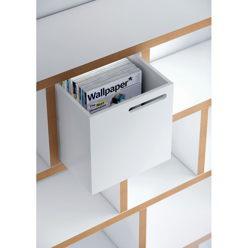 Temahome tag re biblioth que berlin 5 niveaux 150cm for Meuble contreplaque