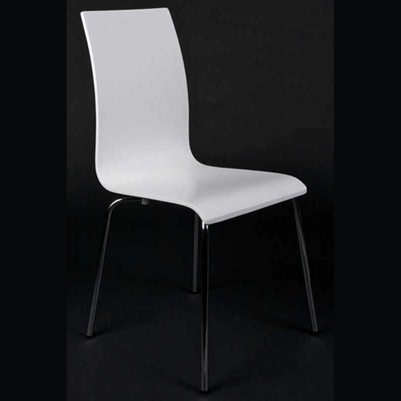 Chaise Design Blanche : Chaise design tina blanche
