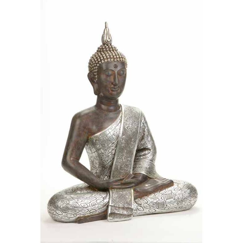 statue d co bouddha 62cm. Black Bedroom Furniture Sets. Home Design Ideas