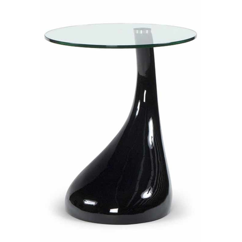Table d 39 appoint design music noire for Table basse d appoint