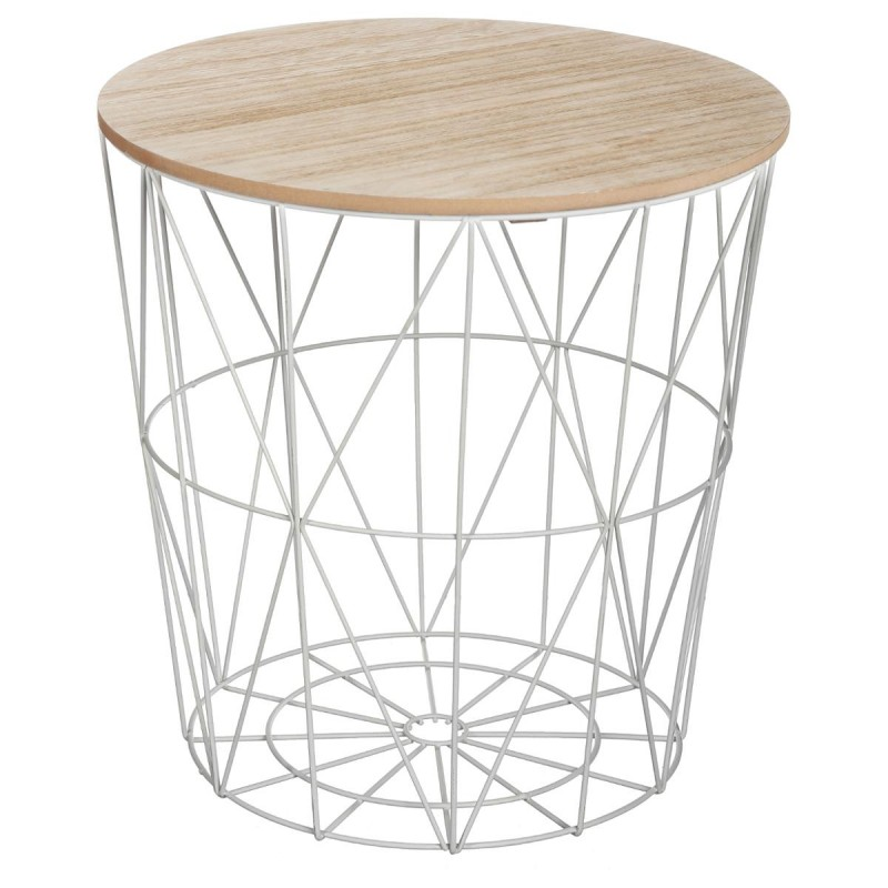 Table D Appoint Metal Scandinave Idees Deco Maison