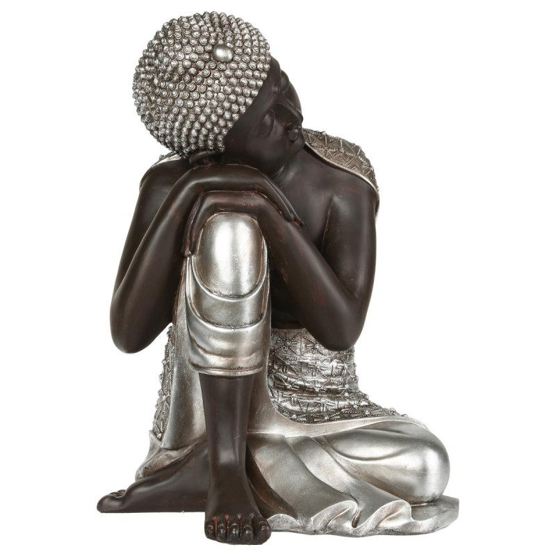 statue d co bouddha 35cm. Black Bedroom Furniture Sets. Home Design Ideas