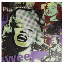 Toile Marilyn Pop Art