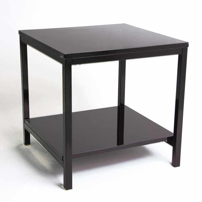 table d 39 appoint verny noir. Black Bedroom Furniture Sets. Home Design Ideas