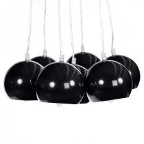Lampe Suspension Grappe Noir